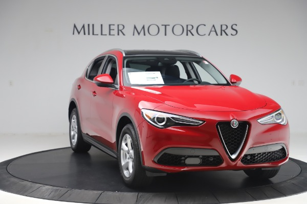 New 2020 Alfa Romeo Stelvio Q4 for sale $47,645 at Maserati of Greenwich in Greenwich CT 06830 11