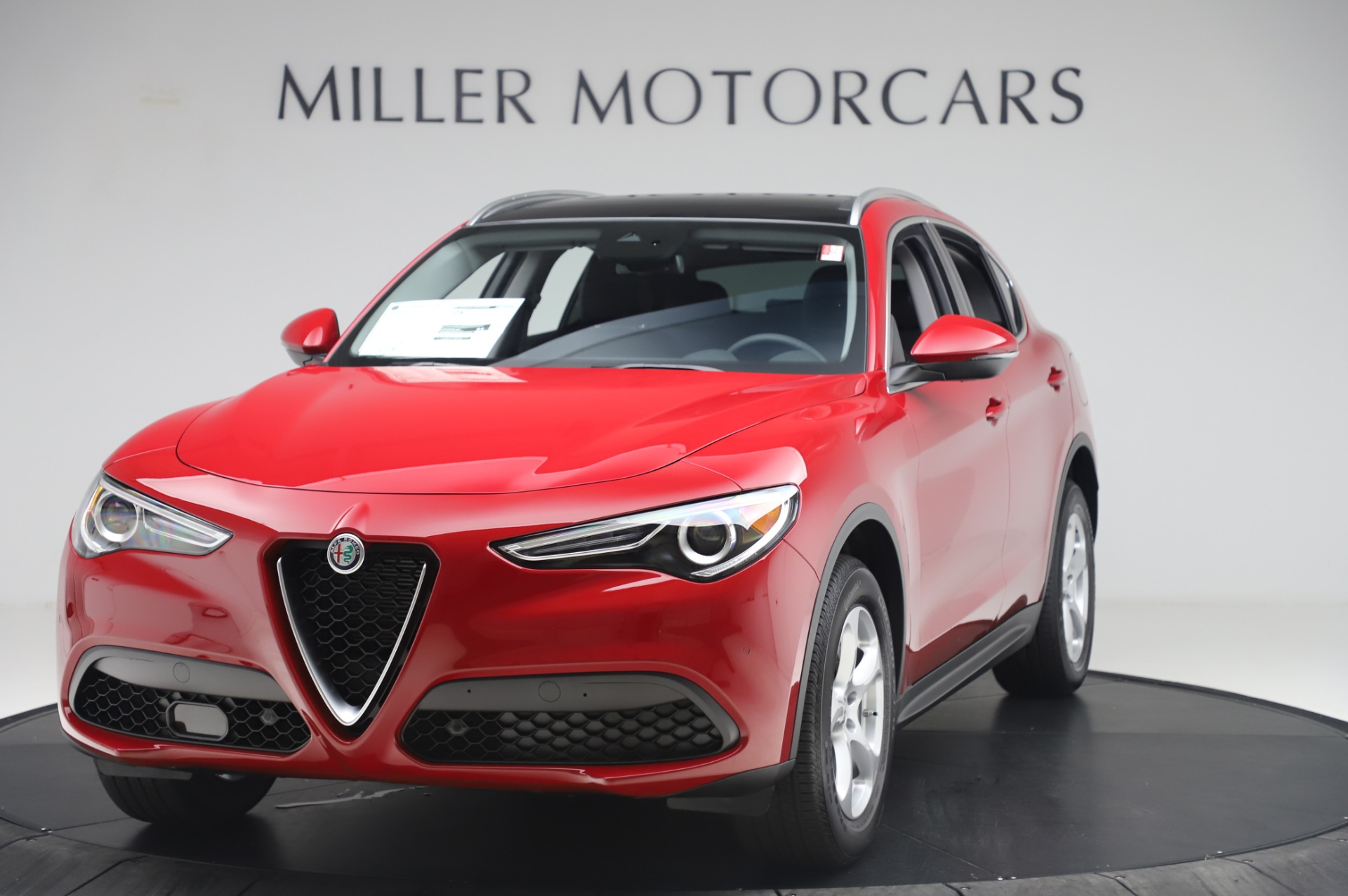 New 2020 Alfa Romeo Stelvio Q4 for sale $47,645 at Maserati of Greenwich in Greenwich CT 06830 1
