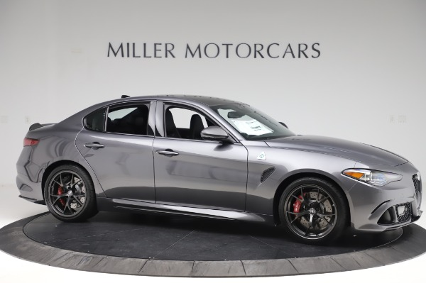 New 2020 Alfa Romeo Giulia Quadrifoglio for sale $87,445 at Maserati of Greenwich in Greenwich CT 06830 10