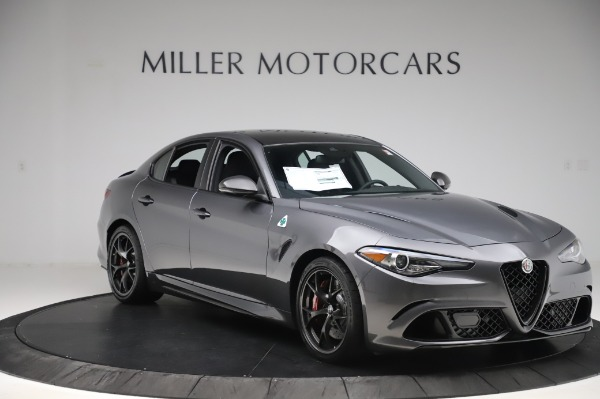 New 2020 Alfa Romeo Giulia Quadrifoglio for sale $87,445 at Maserati of Greenwich in Greenwich CT 06830 11