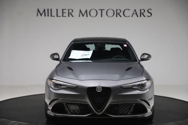 New 2020 Alfa Romeo Giulia Quadrifoglio for sale $87,445 at Maserati of Greenwich in Greenwich CT 06830 12