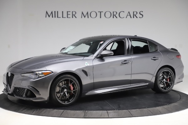 New 2020 Alfa Romeo Giulia Quadrifoglio for sale $87,445 at Maserati of Greenwich in Greenwich CT 06830 2