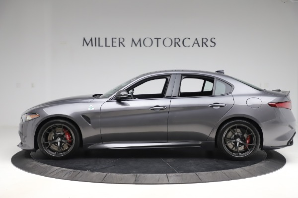 New 2020 Alfa Romeo Giulia Quadrifoglio for sale $87,445 at Maserati of Greenwich in Greenwich CT 06830 3