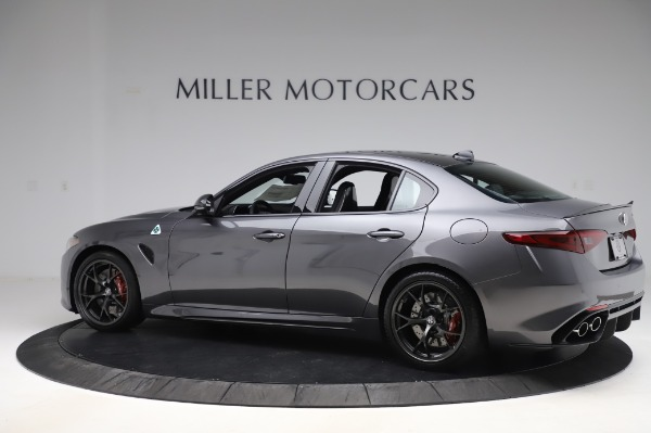 New 2020 Alfa Romeo Giulia Quadrifoglio for sale $87,445 at Maserati of Greenwich in Greenwich CT 06830 4