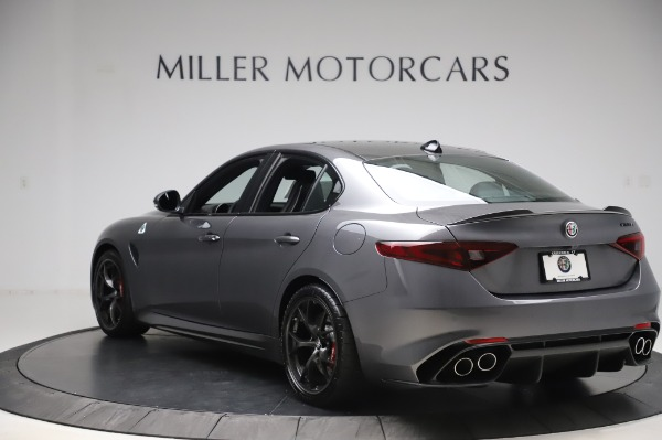 New 2020 Alfa Romeo Giulia Quadrifoglio for sale $87,445 at Maserati of Greenwich in Greenwich CT 06830 5