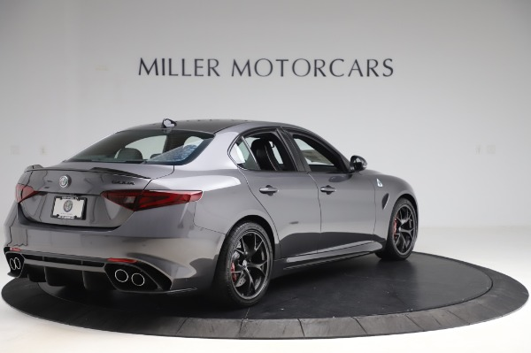 New 2020 Alfa Romeo Giulia Quadrifoglio for sale $87,445 at Maserati of Greenwich in Greenwich CT 06830 7