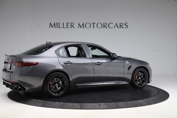 New 2020 Alfa Romeo Giulia Quadrifoglio for sale $87,445 at Maserati of Greenwich in Greenwich CT 06830 8