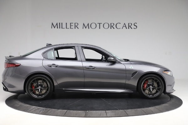 New 2020 Alfa Romeo Giulia Quadrifoglio for sale $87,445 at Maserati of Greenwich in Greenwich CT 06830 9