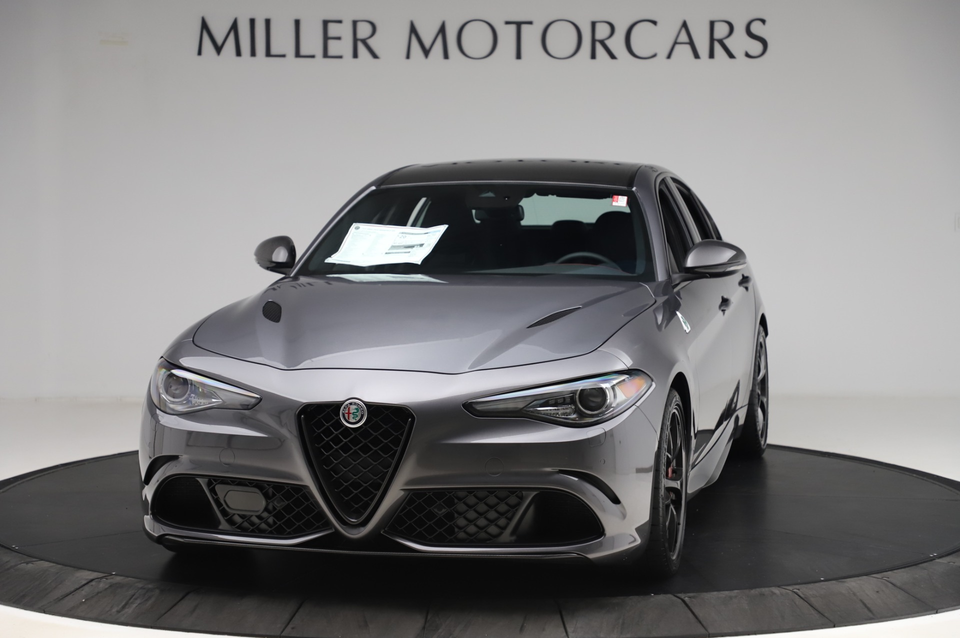 New 2020 Alfa Romeo Giulia Quadrifoglio for sale $87,445 at Maserati of Greenwich in Greenwich CT 06830 1