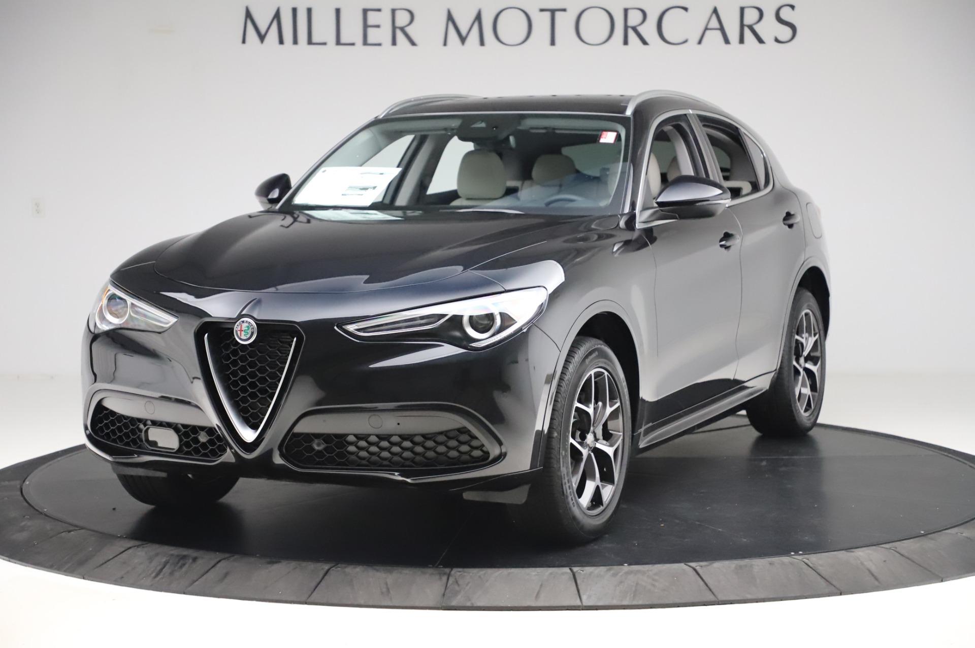 New 2020 Alfa Romeo Stelvio Ti Q4 for sale $50,895 at Maserati of Greenwich in Greenwich CT 06830 1