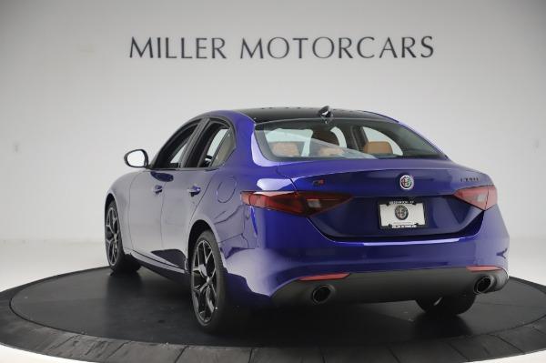 New 2020 Alfa Romeo Giulia Q4 for sale $47,845 at Maserati of Greenwich in Greenwich CT 06830 5
