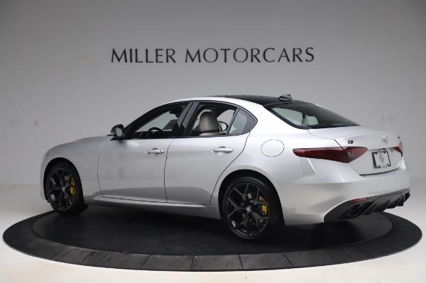 New 2020 Alfa Romeo Giulia Sport Q4 for sale Sold at Maserati of Greenwich in Greenwich CT 06830 4