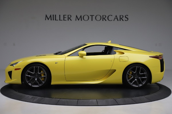 Used 2012 Lexus LFA for sale $509,900 at Maserati of Greenwich in Greenwich CT 06830 3