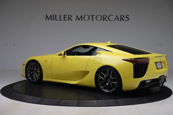 Used 2012 Lexus LFA for sale $509,900 at Maserati of Greenwich in Greenwich CT 06830 4