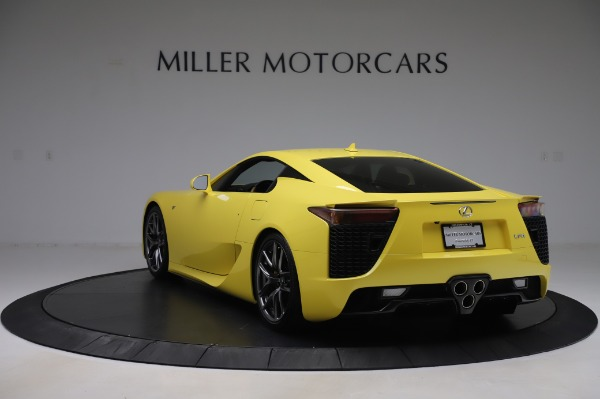 Used 2012 Lexus LFA for sale $509,900 at Maserati of Greenwich in Greenwich CT 06830 5