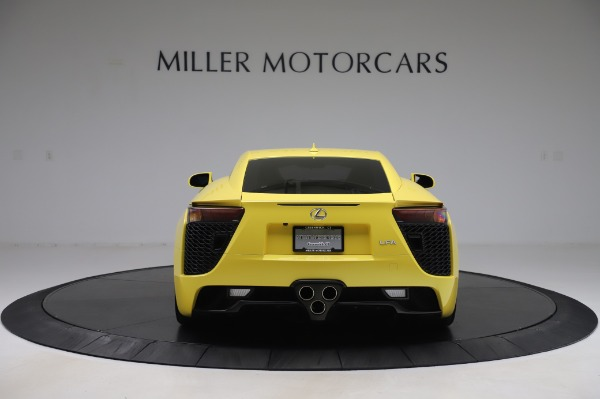 Used 2012 Lexus LFA for sale $509,900 at Maserati of Greenwich in Greenwich CT 06830 6