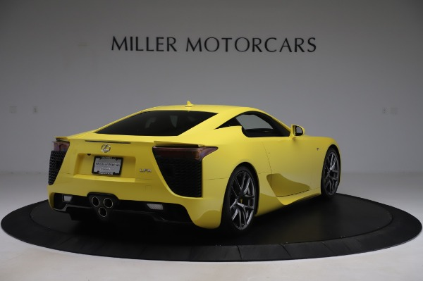Used 2012 Lexus LFA for sale $509,900 at Maserati of Greenwich in Greenwich CT 06830 7