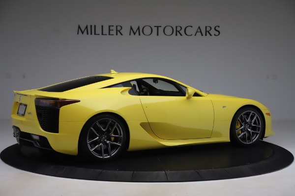 Used 2012 Lexus LFA for sale $509,900 at Maserati of Greenwich in Greenwich CT 06830 8