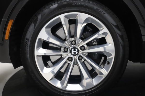 Used 2017 Bentley Bentayga W12 for sale $138,900 at Maserati of Greenwich in Greenwich CT 06830 15