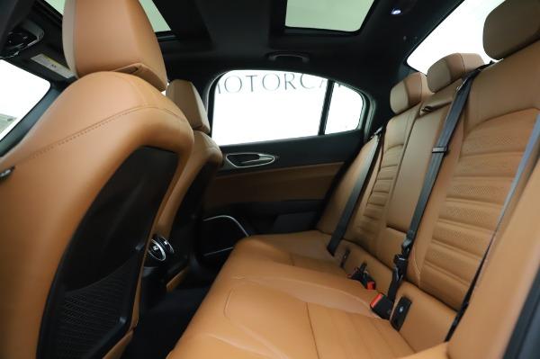 New 2020 Alfa Romeo Giulia Ti Sport Q4 for sale $51,495 at Maserati of Greenwich in Greenwich CT 06830 19