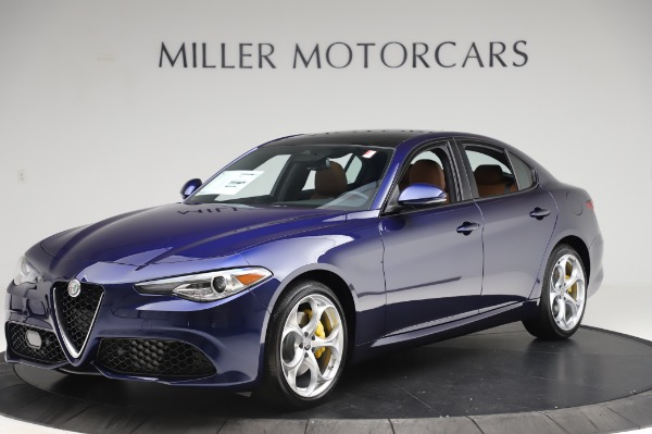 New 2020 Alfa Romeo Giulia Ti Sport Q4 for sale $51,495 at Maserati of Greenwich in Greenwich CT 06830 2
