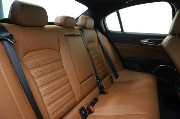 New 2020 Alfa Romeo Giulia Ti Sport Q4 for sale $51,495 at Maserati of Greenwich in Greenwich CT 06830 26