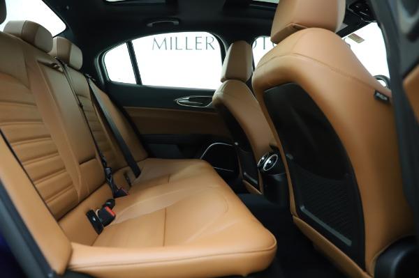 New 2020 Alfa Romeo Giulia Ti Sport Q4 for sale $51,495 at Maserati of Greenwich in Greenwich CT 06830 27