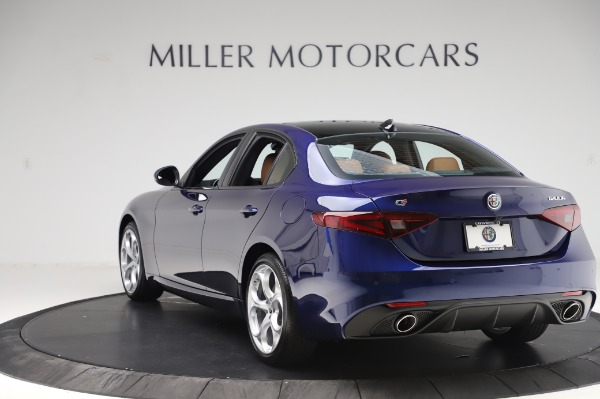 New 2020 Alfa Romeo Giulia Ti Sport Q4 for sale Sold at Maserati of Greenwich in Greenwich CT 06830 5