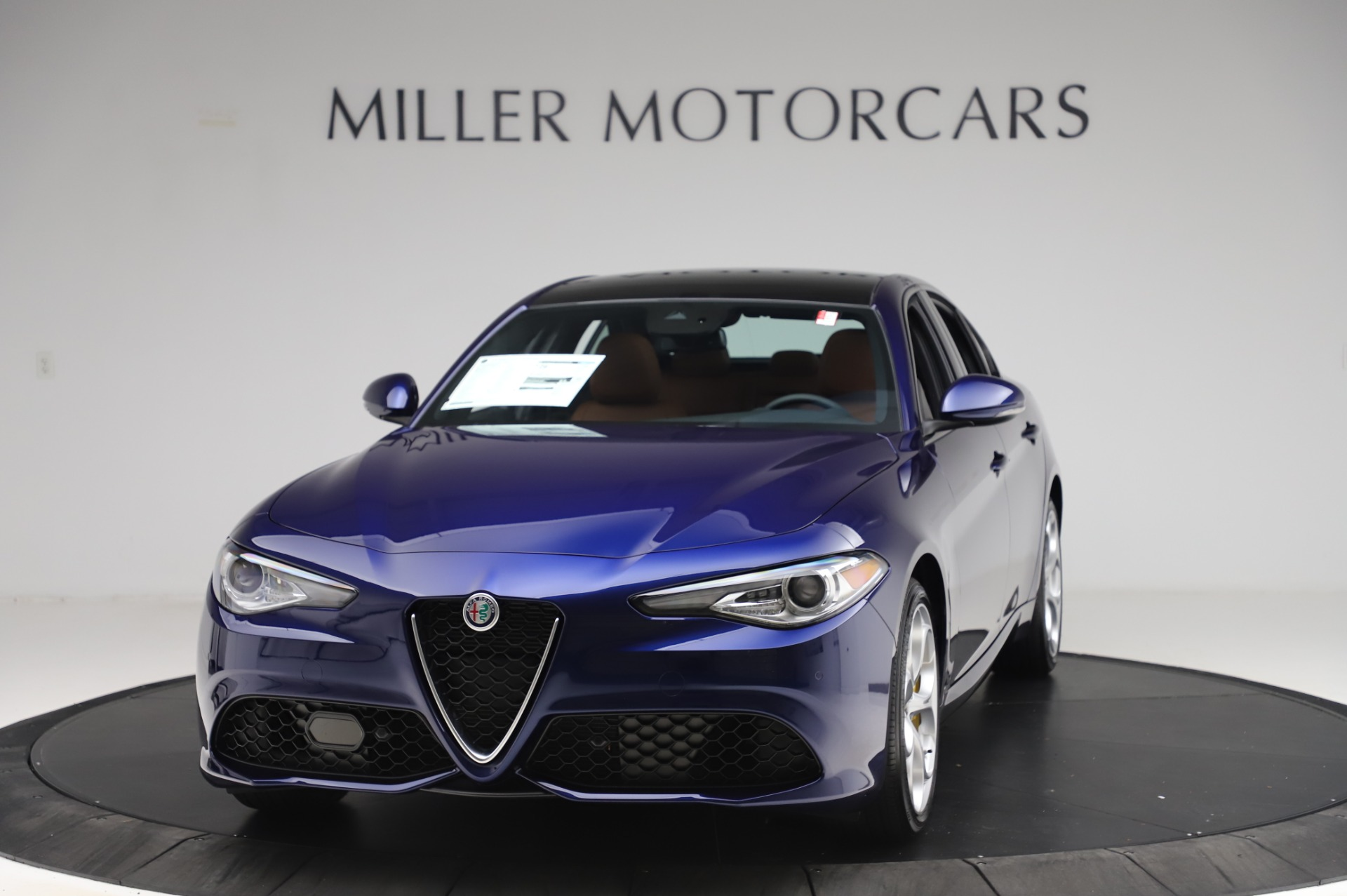 New 2020 Alfa Romeo Giulia Ti Sport Q4 for sale Sold at Maserati of Greenwich in Greenwich CT 06830 1