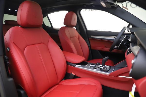 New 2020 Alfa Romeo Stelvio Sport Q4 for sale $50,945 at Maserati of Greenwich in Greenwich CT 06830 18