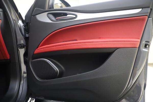 New 2020 Alfa Romeo Stelvio Sport Q4 for sale $50,945 at Maserati of Greenwich in Greenwich CT 06830 21