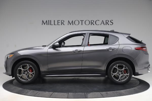 New 2020 Alfa Romeo Stelvio Sport Q4 for sale $50,945 at Maserati of Greenwich in Greenwich CT 06830 3