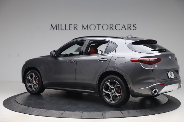 New 2020 Alfa Romeo Stelvio Sport Q4 for sale $50,945 at Maserati of Greenwich in Greenwich CT 06830 4