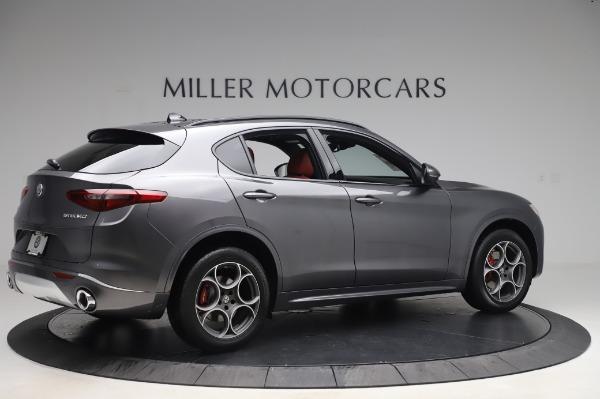New 2020 Alfa Romeo Stelvio Sport Q4 for sale $50,945 at Maserati of Greenwich in Greenwich CT 06830 8