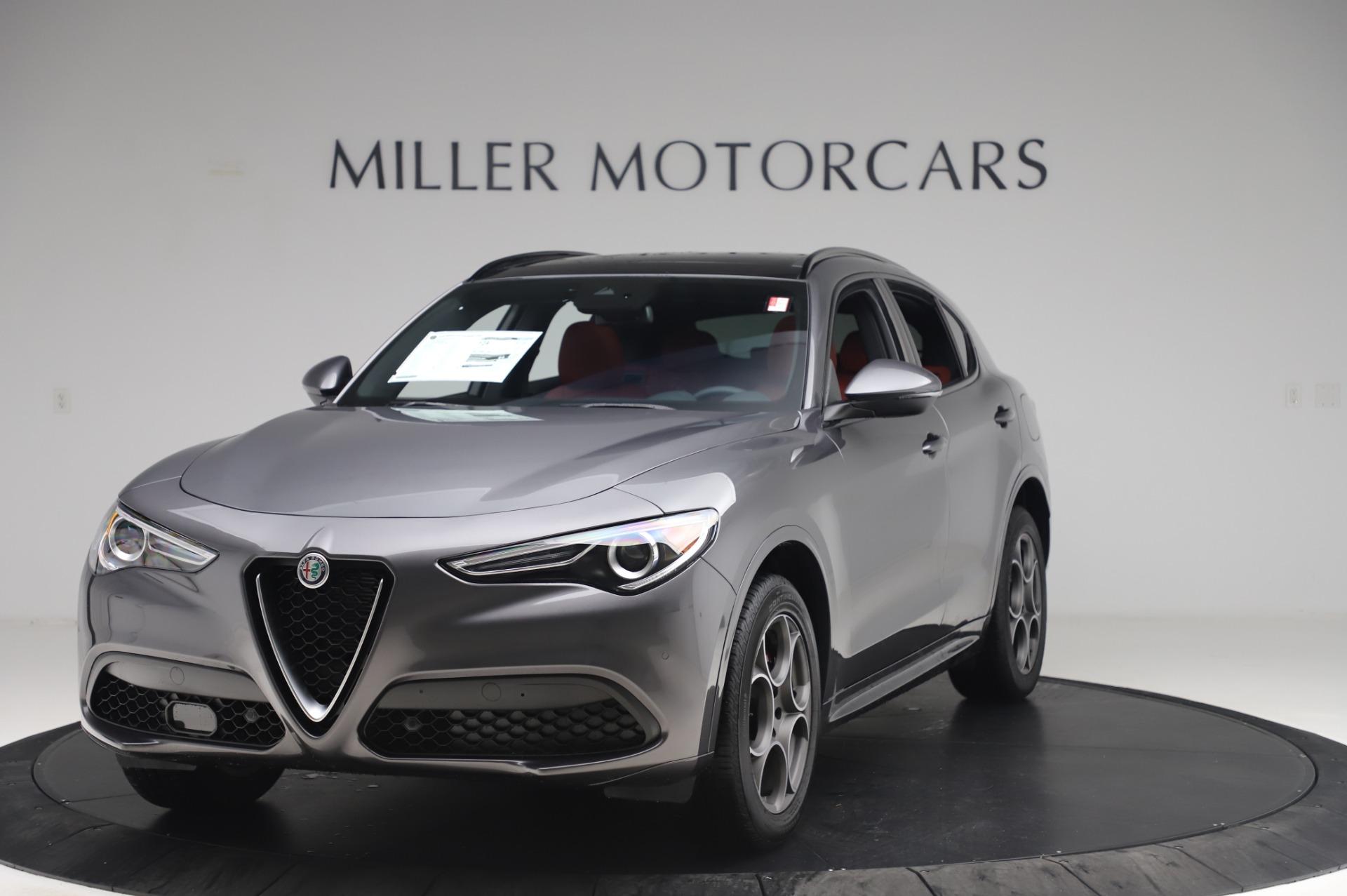 New 2020 Alfa Romeo Stelvio Sport Q4 for sale $50,945 at Maserati of Greenwich in Greenwich CT 06830 1