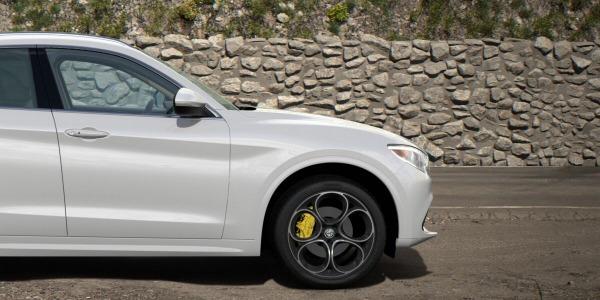 New 2020 Alfa Romeo Stelvio Ti Lusso Q4 for sale Sold at Maserati of Greenwich in Greenwich CT 06830 3