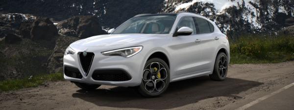 New 2020 Alfa Romeo Stelvio Ti Lusso Q4 for sale Sold at Maserati of Greenwich in Greenwich CT 06830 1