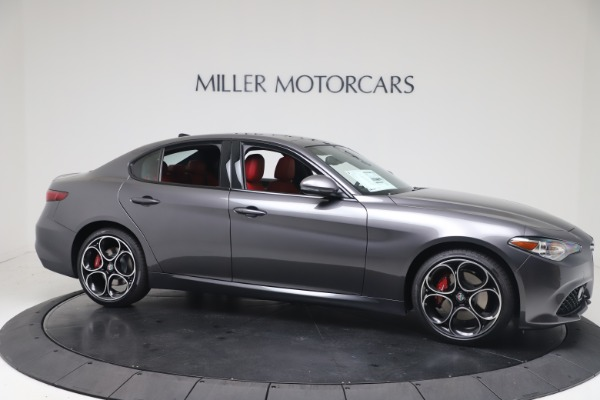 New 2020 Alfa Romeo Giulia Ti Sport Q4 for sale $51,095 at Maserati of Greenwich in Greenwich CT 06830 10