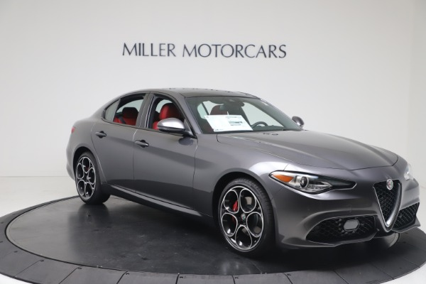 New 2020 Alfa Romeo Giulia Ti Sport Q4 for sale $51,095 at Maserati of Greenwich in Greenwich CT 06830 11