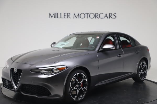 New 2020 Alfa Romeo Giulia Ti Sport Q4 for sale $51,095 at Maserati of Greenwich in Greenwich CT 06830 2