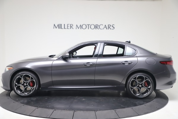 New 2020 Alfa Romeo Giulia Ti Sport Q4 for sale $51,095 at Maserati of Greenwich in Greenwich CT 06830 3