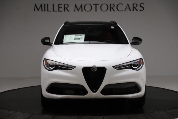 New 2020 Alfa Romeo Stelvio Ti Sport Q4 for sale Sold at Maserati of Greenwich in Greenwich CT 06830 12