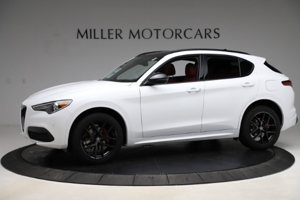 New 2020 Alfa Romeo Stelvio Ti Sport Q4 for sale $54,345 at Maserati of Greenwich in Greenwich CT 06830 2
