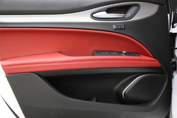 New 2020 Alfa Romeo Stelvio Ti Sport Q4 for sale Sold at Maserati of Greenwich in Greenwich CT 06830 20