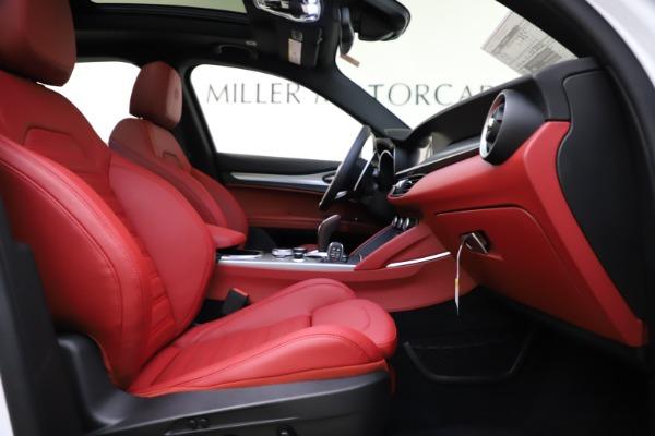 New 2020 Alfa Romeo Stelvio Ti Sport Q4 for sale Sold at Maserati of Greenwich in Greenwich CT 06830 25