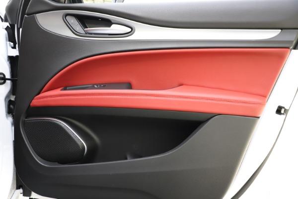 New 2020 Alfa Romeo Stelvio Ti Sport Q4 for sale Sold at Maserati of Greenwich in Greenwich CT 06830 27