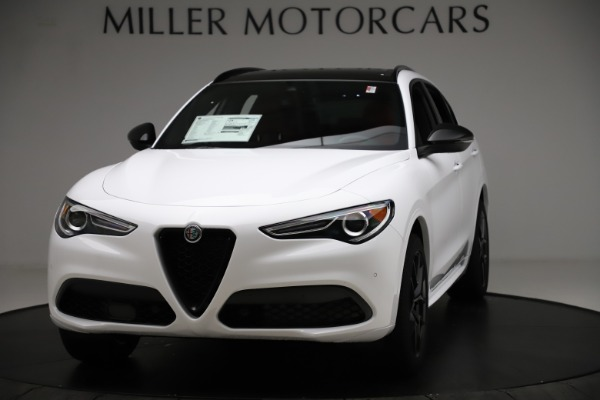 New 2020 Alfa Romeo Stelvio Ti Sport Q4 for sale $54,345 at Maserati of Greenwich in Greenwich CT 06830 1