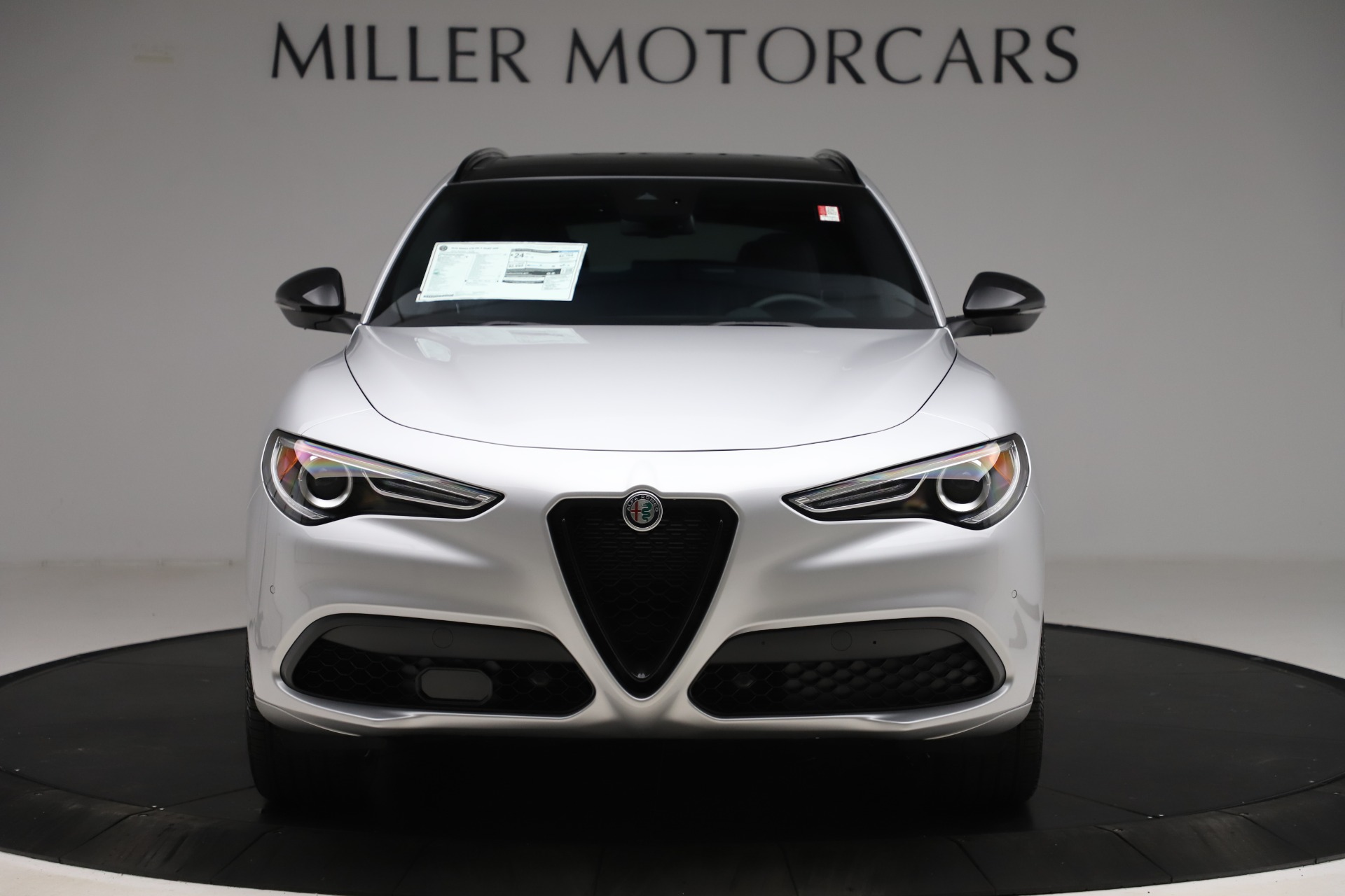 New 2020 Alfa Romeo Stelvio Ti Sport Q4 for sale $54,795 at Maserati of Greenwich in Greenwich CT 06830 1