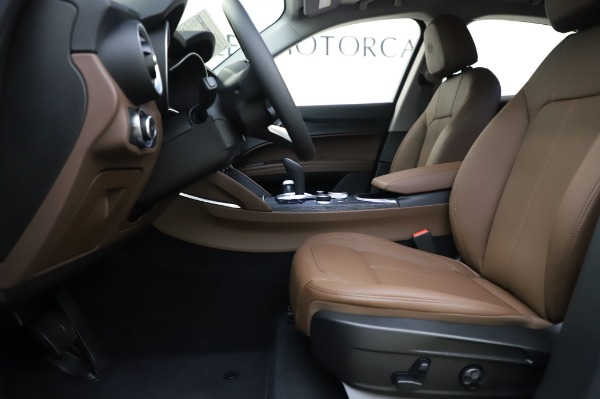 New 2020 Alfa Romeo Stelvio Sport Q4 for sale $50,895 at Maserati of Greenwich in Greenwich CT 06830 14