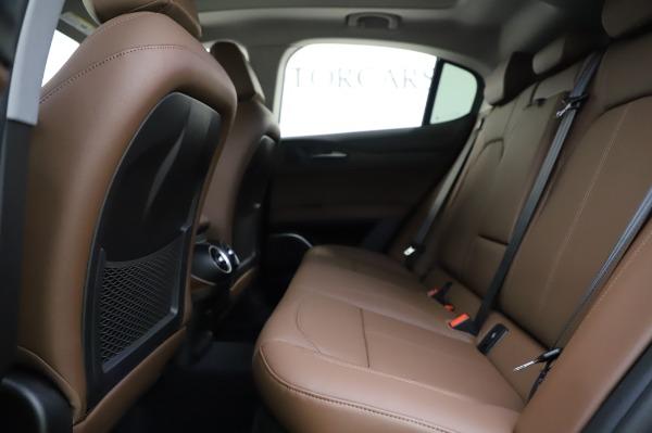New 2020 Alfa Romeo Stelvio Sport Q4 for sale $50,895 at Maserati of Greenwich in Greenwich CT 06830 19